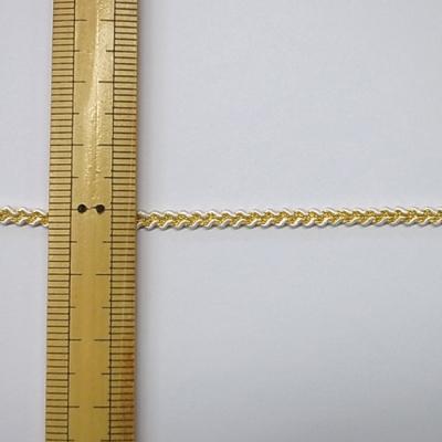BR0291 ブレード 3mm ゴールド×ホワイト(金×白) 1m単位