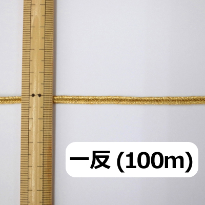 BR0311m100 ブレード 4mm ゴールド(金) 一反(100m)