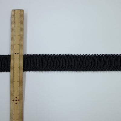 BR0382R リボン入りブレード 20mm ブラック 一反(38m)