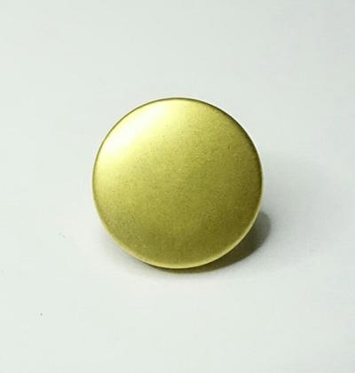 BT1012 汎用ボタン ゴールド 直径10mm 6個入りパック