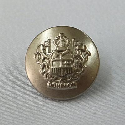BT2012 エンブレムボタン 18mm シルバー(銀) 6個セット