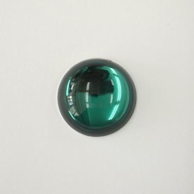 CR125-4 アクリルストーン 正円 25mm グリーン(緑系)