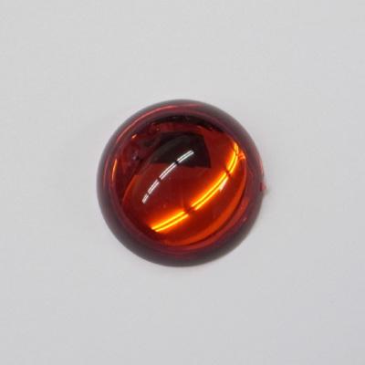 CR130-1 アクリルストーン 正円 30mm レッド(赤系) 30�o