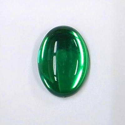 CR203-4 アクリルストーン 楕円 25×18mm グリーン