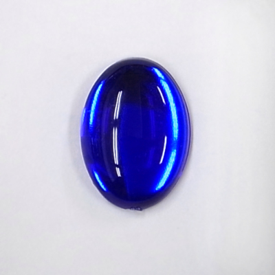 CR203-6 アクリルストーン 楕円 25×18mm ブルー