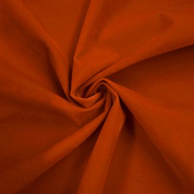 CVB017 化繊ベルベット[B] ディープオレンジ 10cm単位