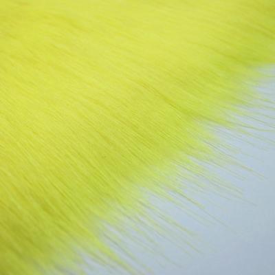 FF0104【アウトレット】フェイクファー イエロー(黄色系) 10cm単位
