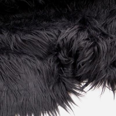 Ff0402 フェイクファー 毛足8cm ブラック 黒 170cm幅 10cm単位 ファー ボア生地 コスプレ生地中心のコスプレ用品 資材の専門店 Cosmode Clothic コスモードクロシック