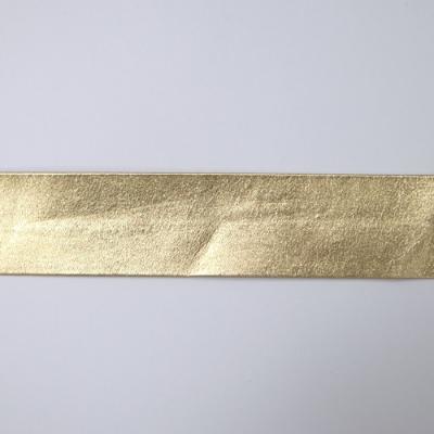 FLT0230m20 合皮テープ 両折 金(ゴールド) 30mm 一反(20m)