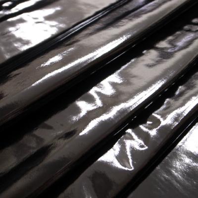 LMJ01 2way ストレッチエナメル 黒(ブラック) 10cm単位