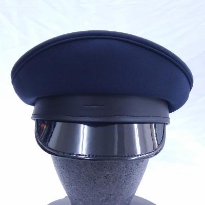 MCBA074B 軍帽【タイプB】 ネイビーブルー(A-074) [腰:黒] 頭周60cm