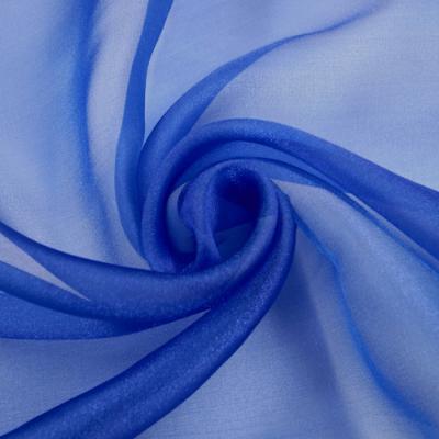 OG0106 スパークオーガンジー ブルー