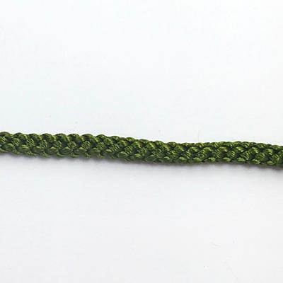 RP2132 江戸打ち紐 カーキグリーン 直径約5mm 1m単位