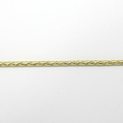 RP9011 合皮ボーロコード ゴールド 直径約4mm