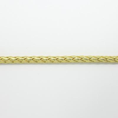 RP9012 合皮ボーロコード ゴールド 直径約6mm