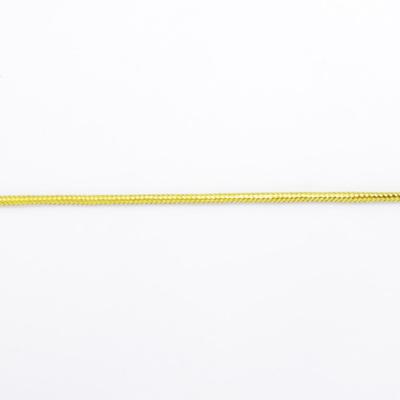 RP9041 ラメゴールド紐 幅約3mm 1m単位