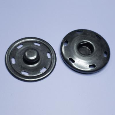 SB0101 特大スナップボタン 40mm シルバー 1組