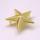 ST0501 鋲(スタッズ) 星型 ゴールド 約26mm