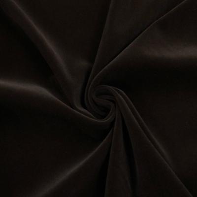 hm5730 化繊ベルベット ダークブラウン(茶系)